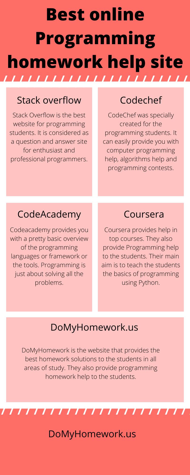 Best-online-Programming-homework-help-site